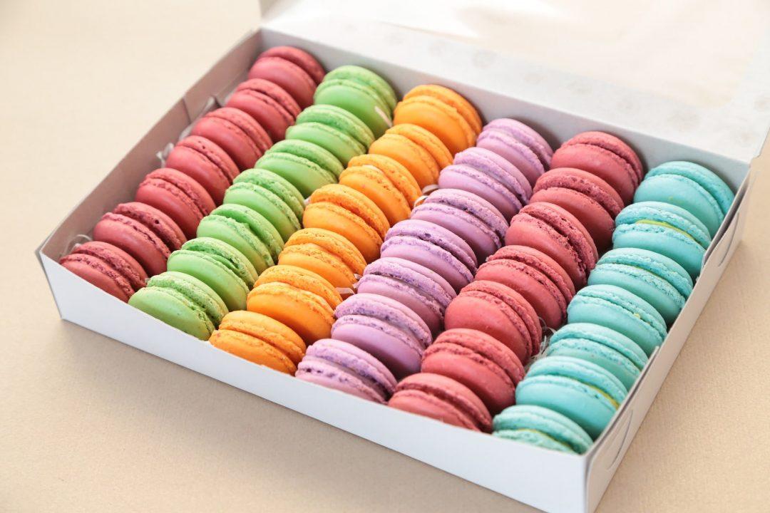 Confezione da 42 Macaron - Gusti Assortiti