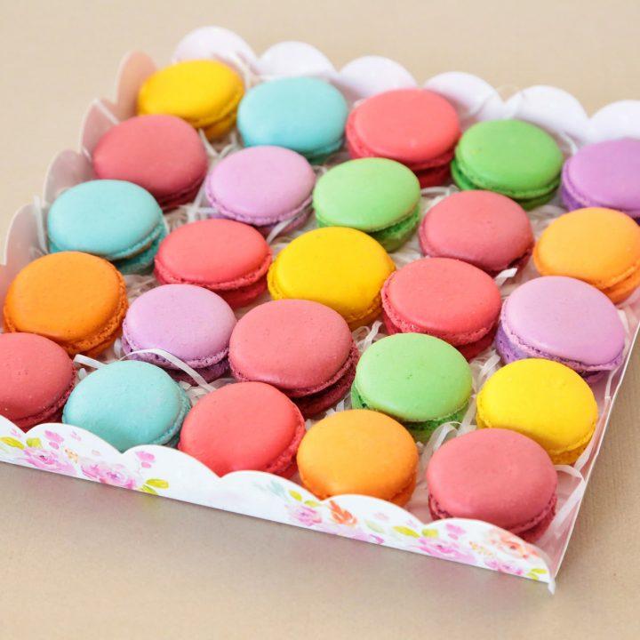 Macaron - Confezione 25 meringhe